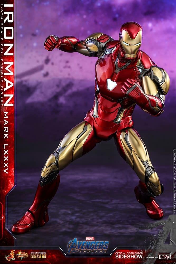 Hot toys Marvel: Avengers Endgame - Iron Man Mark LXXXV 1:6 Scale Figure