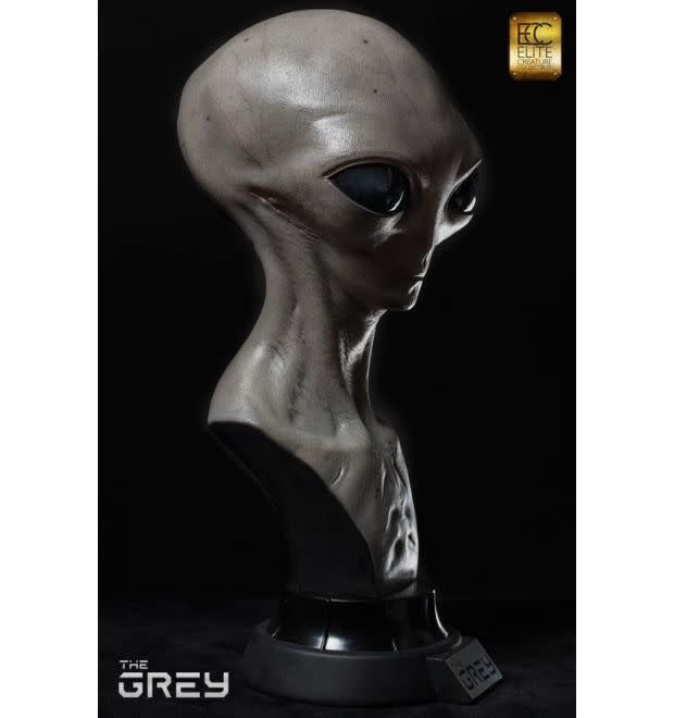 Elite Creature Collectibles The Grey: Alien 1:1 Scale Bust by Steve Wang