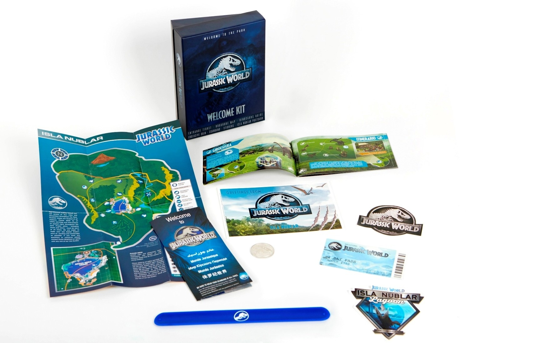 Jurassic World: Welcome Kit