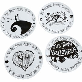 FUNKO Nightmare Before Christmas: We Are Simply Meant to Be Plate Set