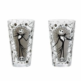 FUNKO Nightmare Before Christmas: Jack and Bones Pint Glass Set