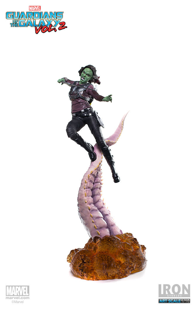 Iron Studios Marvel: Guardians of the Galaxy Vol. 2 - Gamora 1:10 Scale Statue