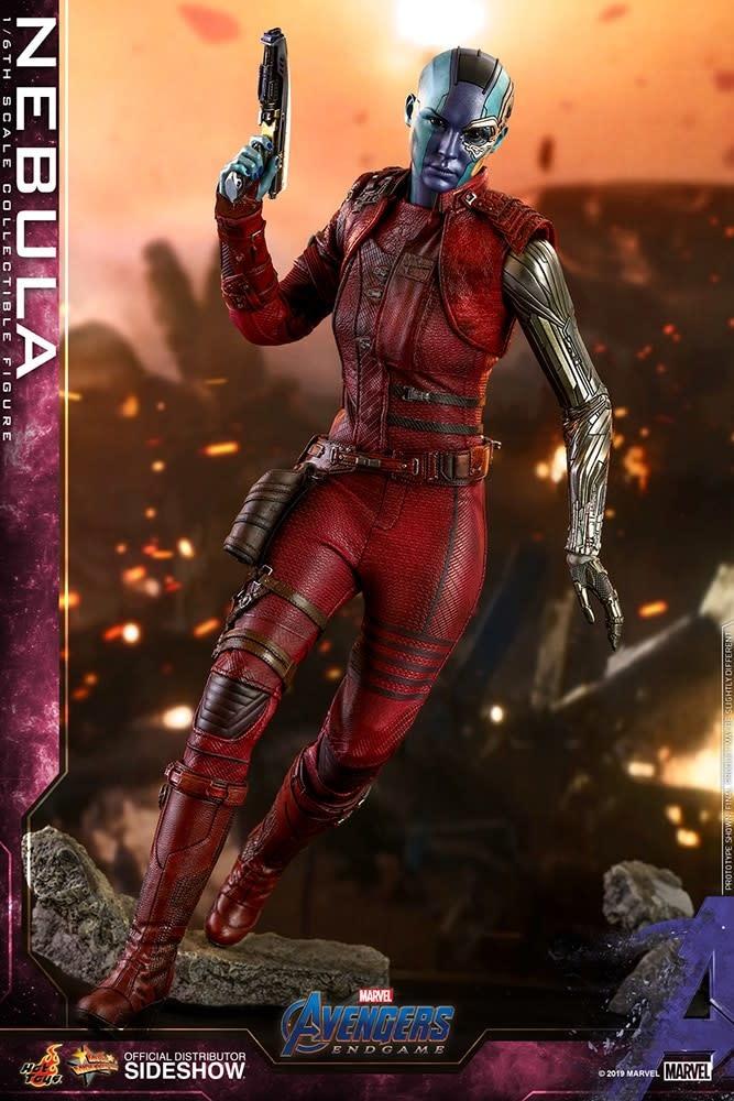 Hot Toy Marvel: Avengers Endgame - Nebula 1:6 Scale Figure