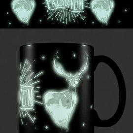 piramyd Harry Potter expecto patronum glow in the dark mug