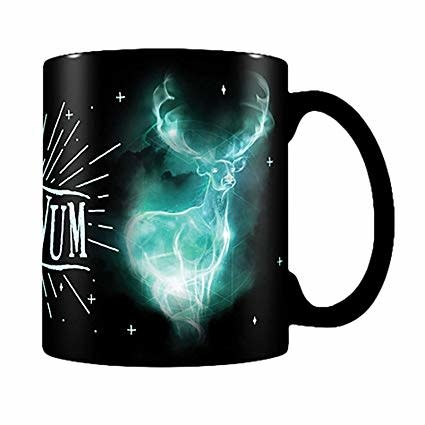 harry potter expecto patronum glow in the dark mug