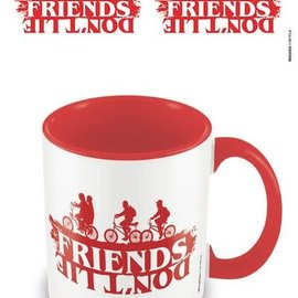 Stranger Things Friends Don't Lie Red - Mug