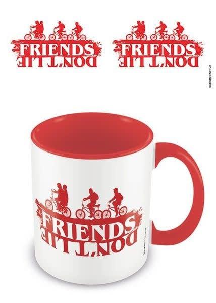 Stranger Things Friends Don't Lie Red - Mug