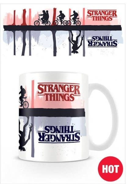 Stranger Things Upside Down - Heat Change Mug