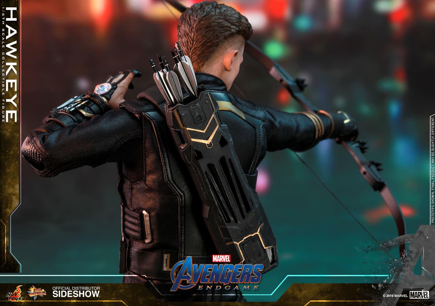 Hot toys Marvel: Avengers Endgame - Deluxe Hawkeye - 1:6 Scale Figure