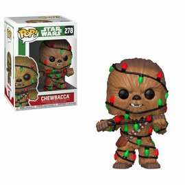 FUNKO Pop! Star Wars: Holiday - Chewie with Lights