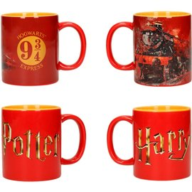 SD Toys Harry Potter: Logo Hogwarts Express - 2 Mug Set
