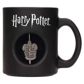 SD Toys Harry Potter: 3D Rotating Gryffindor Emblem - Black Mug
