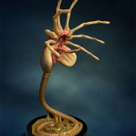 Hollywood Collectibles Group Aliens Replica 1/1 Facehugger 72 cm