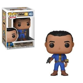 FUNKO Pop! Games: Fallout 76 - Vault Dweller Male