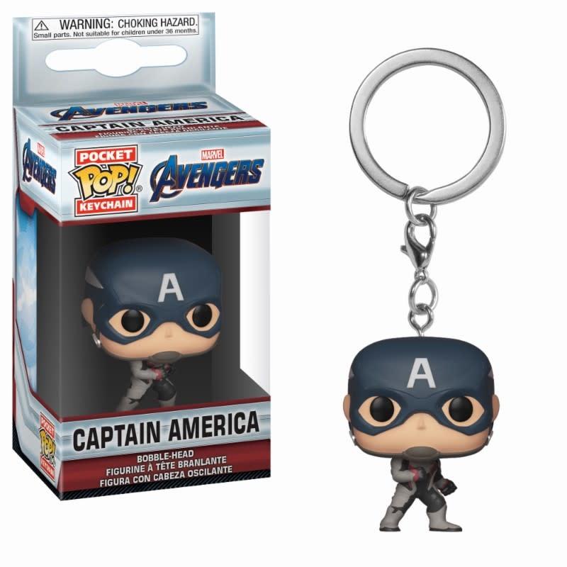 FUNKO Pocket Pop Keychain: Marvel Avengers Endgame - Captain America
