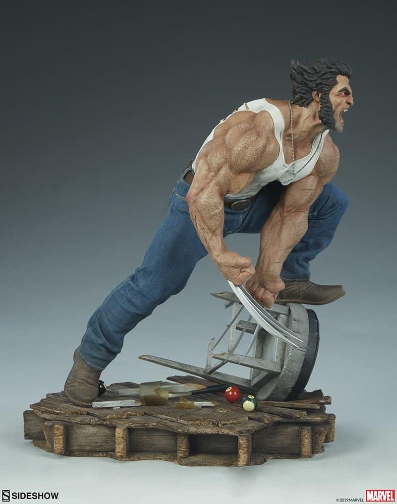 Sideshow Toys Marvel: Logan Premium Format Statue