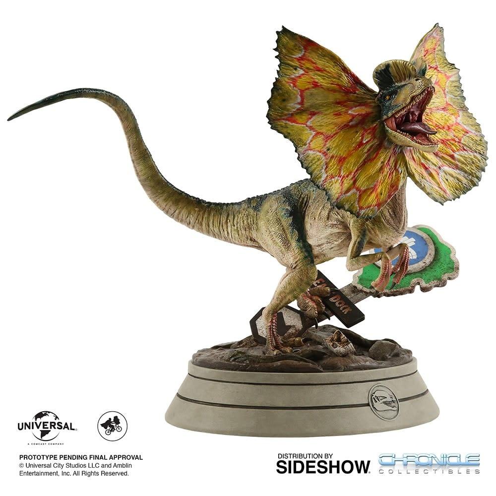 Sideshow Toys Jurassic Park: Dilophosaurus 1:4 Scale Statue