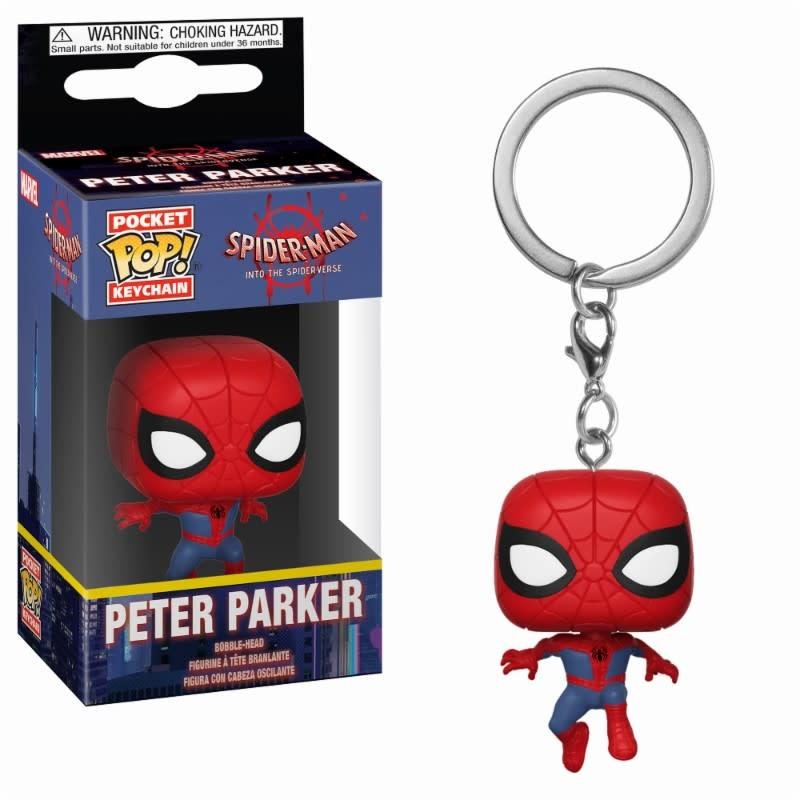 FUNKO Pocket Pop Keychain: Marvel - Animated Spider-Man - Peter