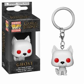 FUNKO Pocket Pop Keychain: Game of Thrones - Ghost