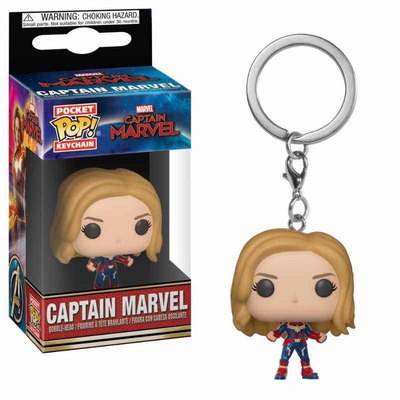 FUNKO Pocket Pop Keychains: Marvel - Captain Marvel