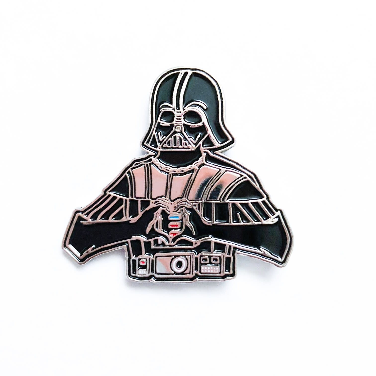 DKE Star Wars: I heart U - Darth Vader Pin
