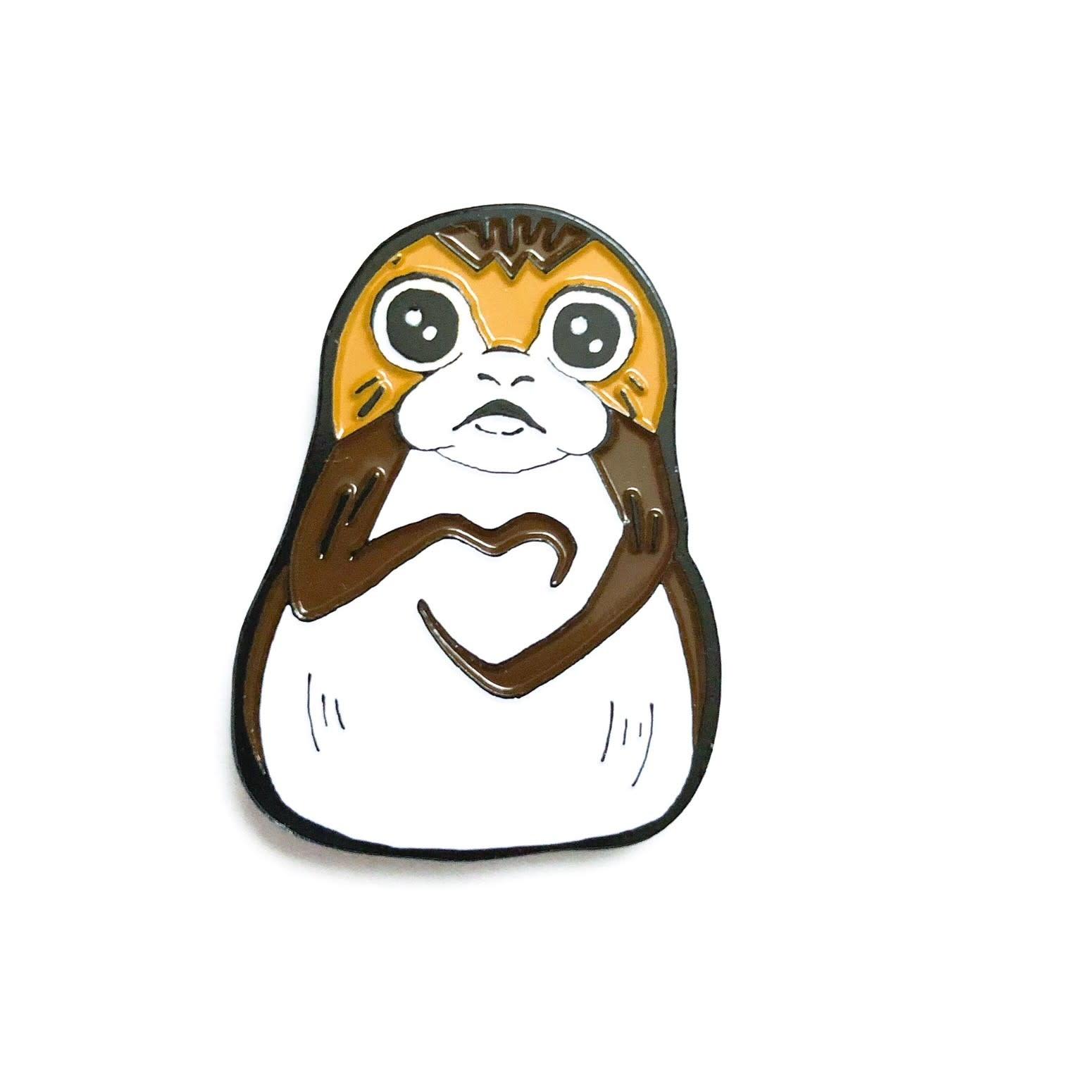 DKE Star Wars: I heart U - Porg Pin