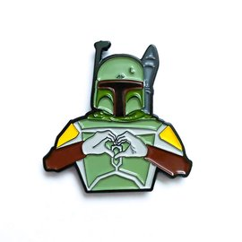 DKE Star Wars: I heart U - Boba Fett Pin