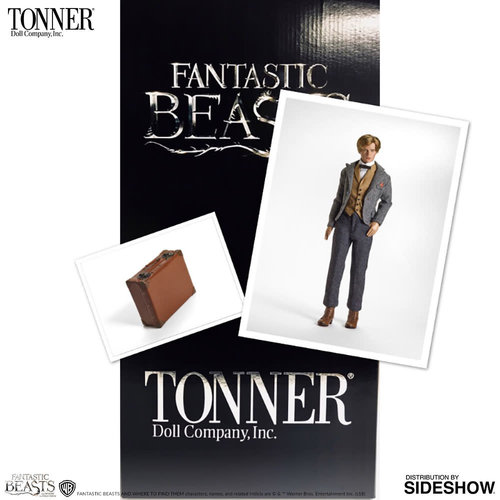 Sideshow Toys Harry Potter: Fantastic Beasts - Newt Scamander Doll