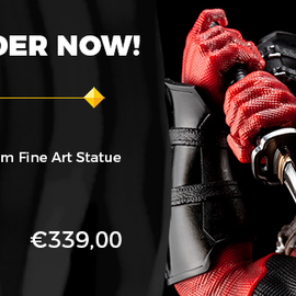 Kotobukiya Marvel Comics: Deadpool Maximum Fine Art Statue