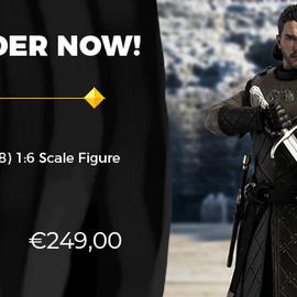 Three A Toys Pre-order : Game of Thrones: Jon Snow (Season 8) 1:6 Scale Figure