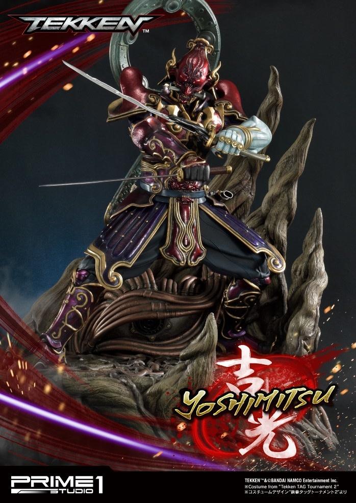 Prime 1 Studio Tekken Series: Yoshimitsu 1:4 Scale Statue