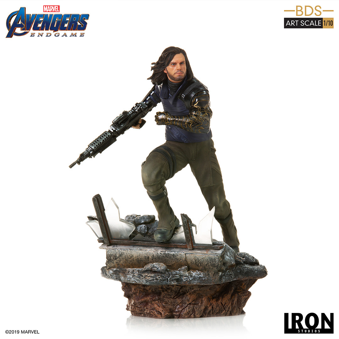 Iron Studios Marvel: Avengers Endgame - Winter Soldier 1:10 Scale Statue