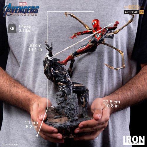 Iron Studios Marvel: Avengers Endgame - Iron Spider vs Outrider 1:10 Scale Statue
