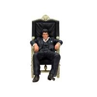 Scarface: Sitting Tony Montana 18 cm Figure