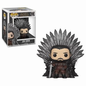 FUNKO Pop! Deluxe: Game of Thrones - Jon Snow Sitting on Iron Throne