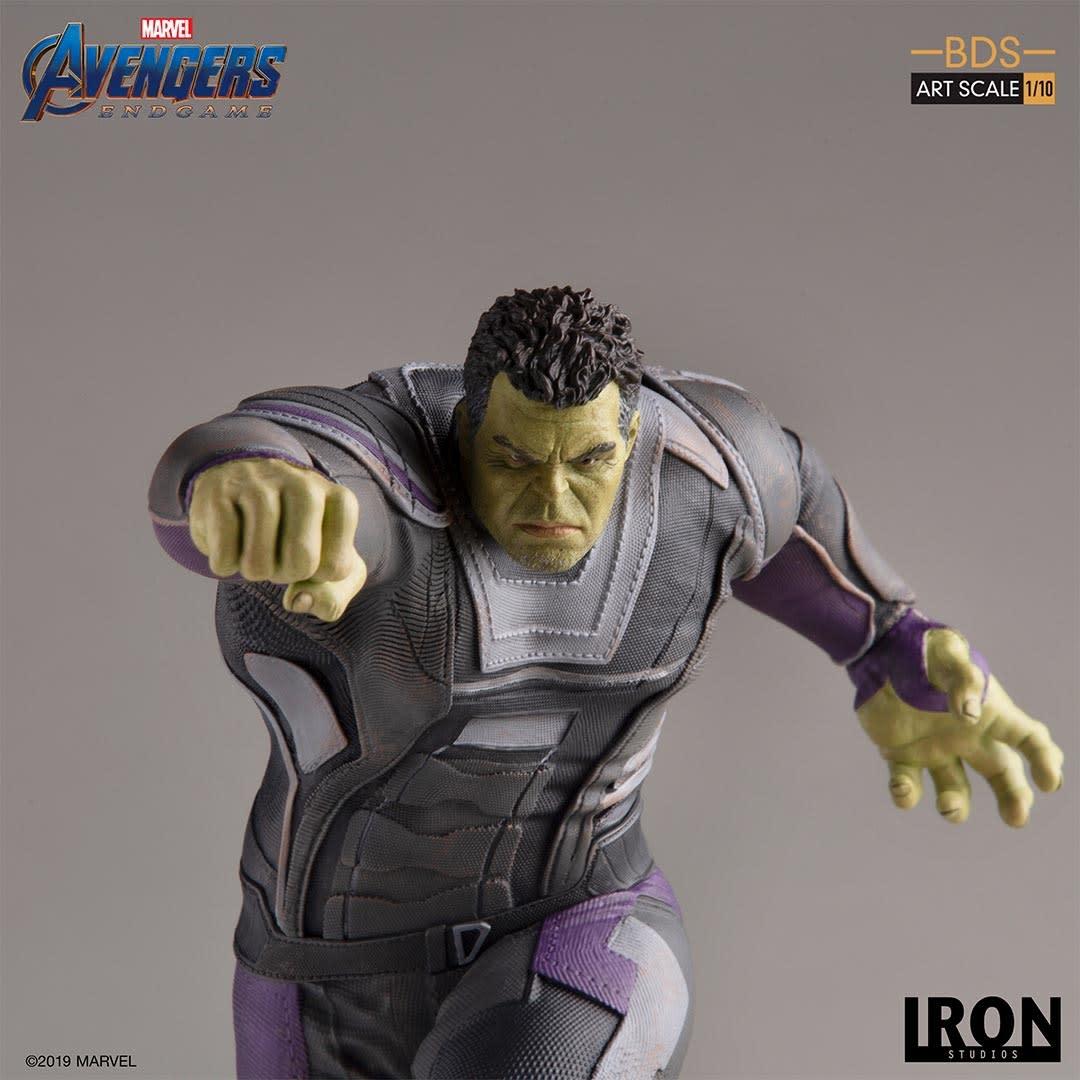 Iron Studios PRE ORDER: Marvel: Avengers Endgame - Deluxe The Hulk 1:10 scale Statue