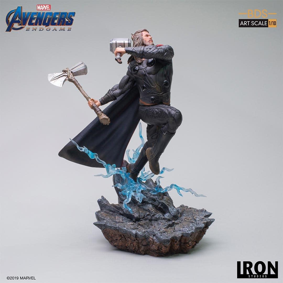 Iron Studios PRE ORDER: Marvel: Avengers Endgame - Thor 1:10 Scale Statue