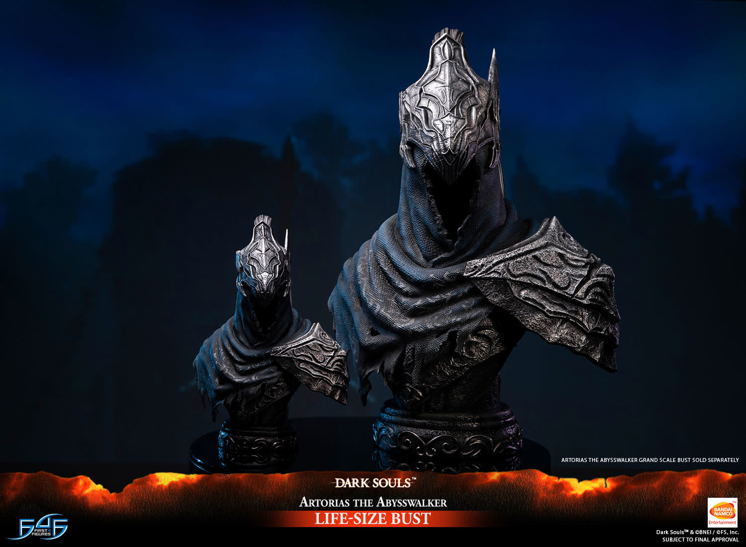 First 4 Figures Dark Souls: Artorias the Abysswalker Life Sized Bust