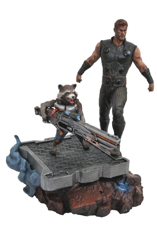 Diamond Direct Marvel Premier Collection: Avengers Infinity War - Thor and Rocket Statue
