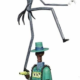 Diamond Direct Nichtmare before Christmas: Gallery Oogies Lair Jack PVC Figure