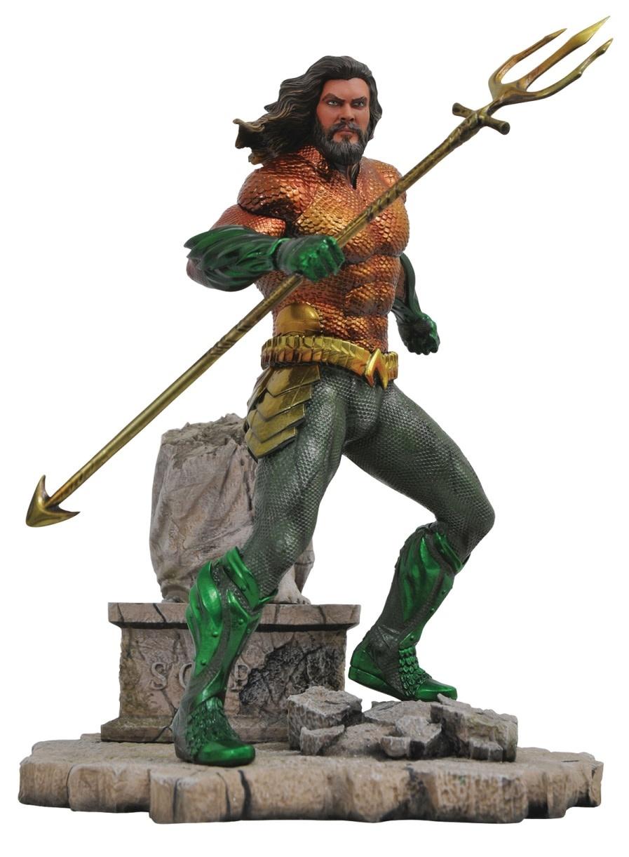 Diamond Direct DC Comics: Aquaman Movie - Gallery Aquaman PVC Figure