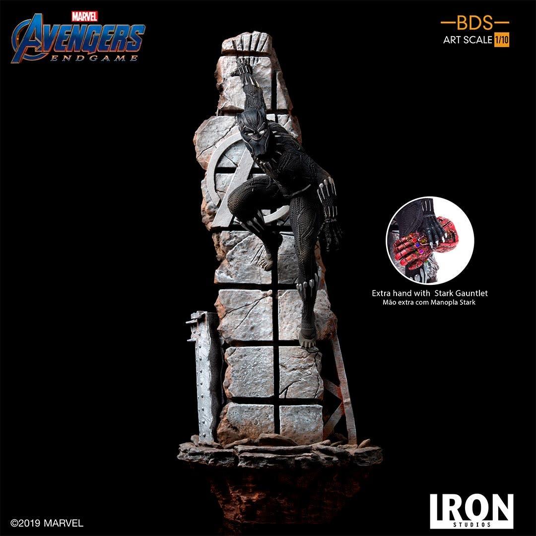 Iron Studios Pre order:  Marvel: Avengers Endgame - Black Panther 1:10 Scale Statue