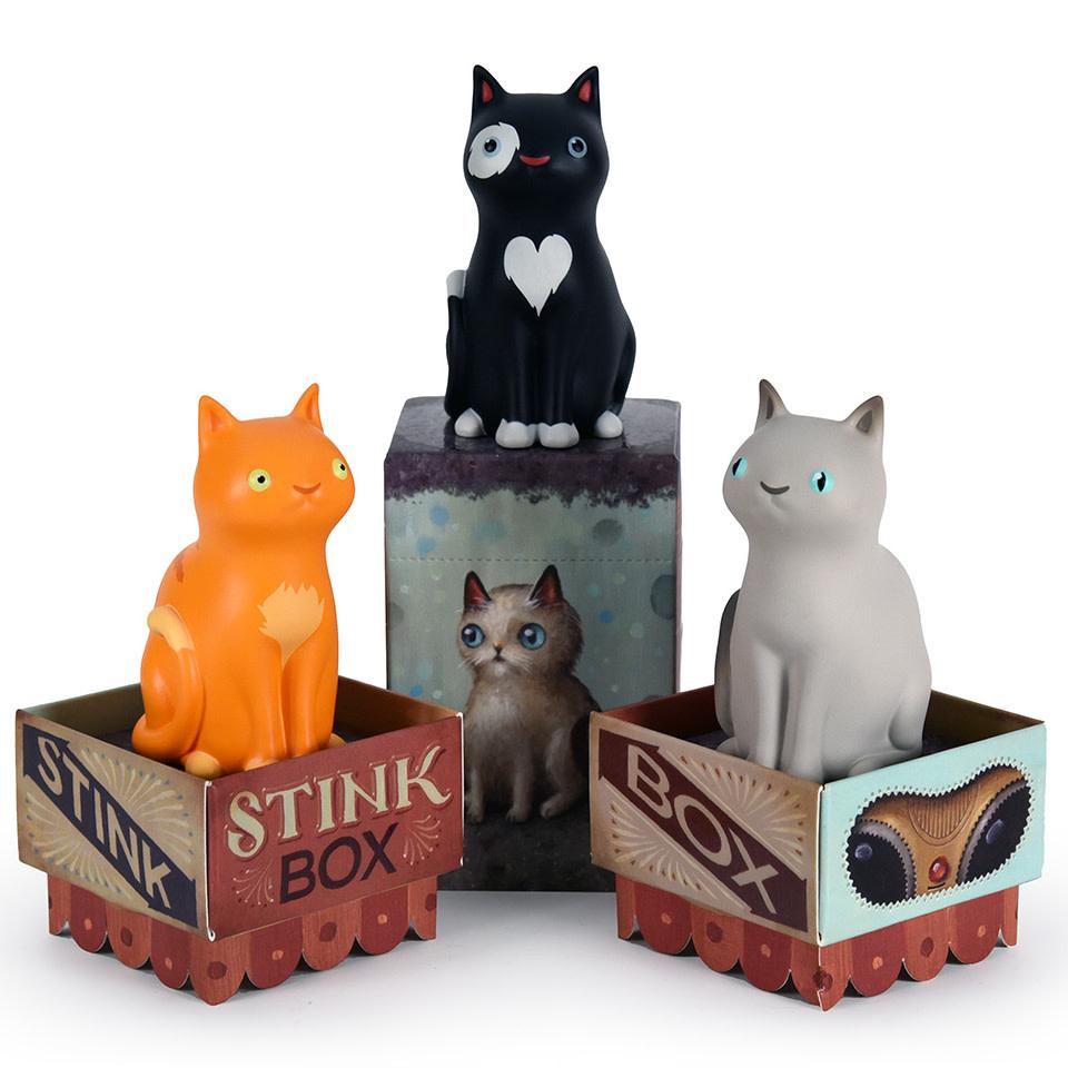 DKE Stink Box Blind Box Series by Jason Limon (price for 1 piece)