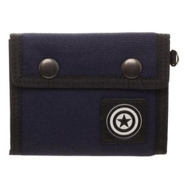 Bioworld CAPTAIN AMERICA FABRIC TRI-FOLD WALLET