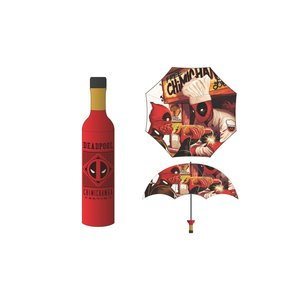Bioworld Deadpool Chimichanga Bottle Umbrella