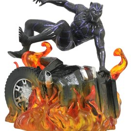 Diamond Direct Marvel Gallery: Black Panther - Black Panther Version 2 PVC Statue