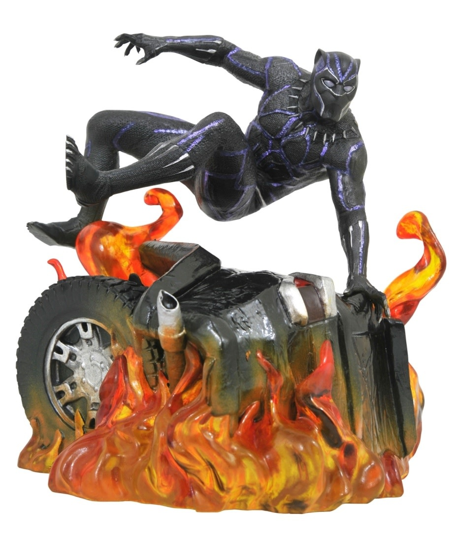 Diamond Direct Marvel Gallery: Black Panther - Black Panther Version 2 PVC Statue
