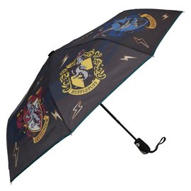 Bioworld Harry Potter House Crests Umbrella