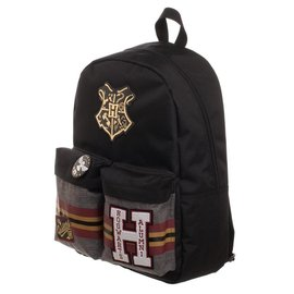 Bioworld Harry Potter Patches Backpack with Pin Badge