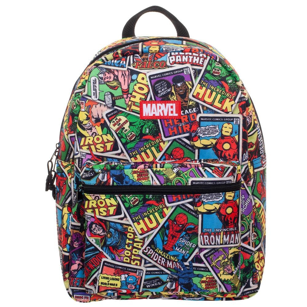 Bioworld Marvel Hero Card All Over Print Backpack